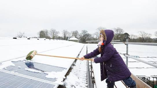 How do Solar Panels Perform in Winter?